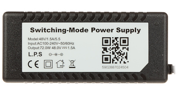 SWITCHING ADAPTER 48V 1 5A 5 5