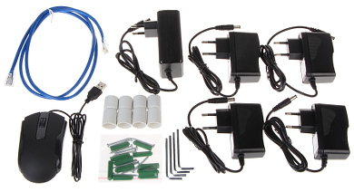 SURVEILLANCE KIT APTI KIT WIFI 21C2 Wi Fi 4 CHANNELS 1080p