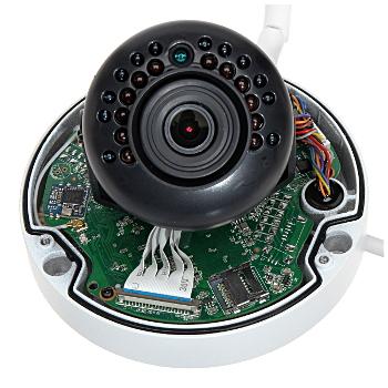 VANDALOODPORNA KAMERA IP IPC HDBW1435E W 0360B Wi Fi 4 0 Mpx 3 6 mm DAHUA