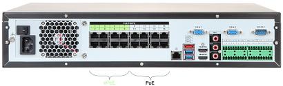NVR IP NVR5816 16P 4KS2E 16 CANALE SWITCH POE CU 16 PORTURI DAHUA