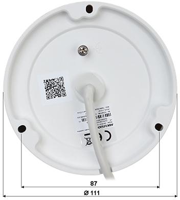 CAMER IP ANTIVANDAL DS 2CD1123G0E I 2 8mm 1080p Hikvision