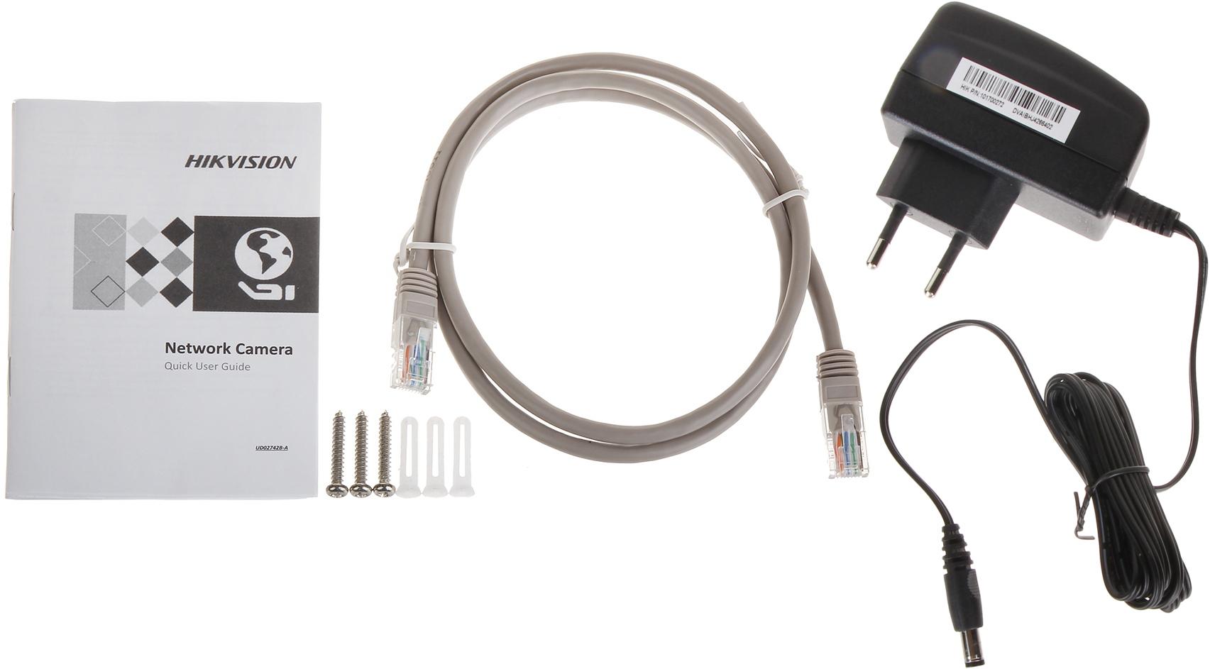 IP CAMERA DS-2CD2420F-IW(2 8MM)(PSU) Wi-Fi - 1080p HIK    - Wi-Fi IP