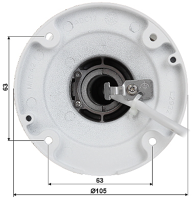 CAMER IP DS 2CD2T45FWD I5 2 8mm 4 Mpx Hikvision