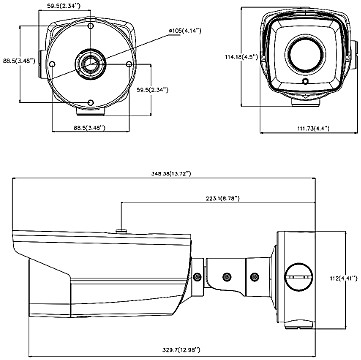 IP DS 2CD4B16FWD IZS 2 8 12MM 1 3 Mpx Hikvision