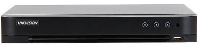 NVR AHD HD CVI HD TVI CVBS TCP IP DS 7208HUHI K1 S 8 CANALE Hikvision