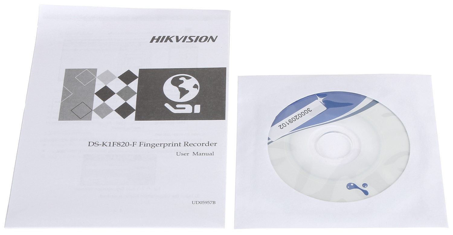 USB FINGERPRINT READER DS-K1F820-F HIKVISION - Fingerprint Readers