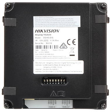 DISPLAY MODULE DS KD DIS Hikvision