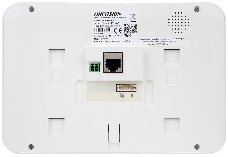 INDOOR PANEL IP DS-KH6210-L HIKVISION - Indoor Panels (Monitors) - Delta