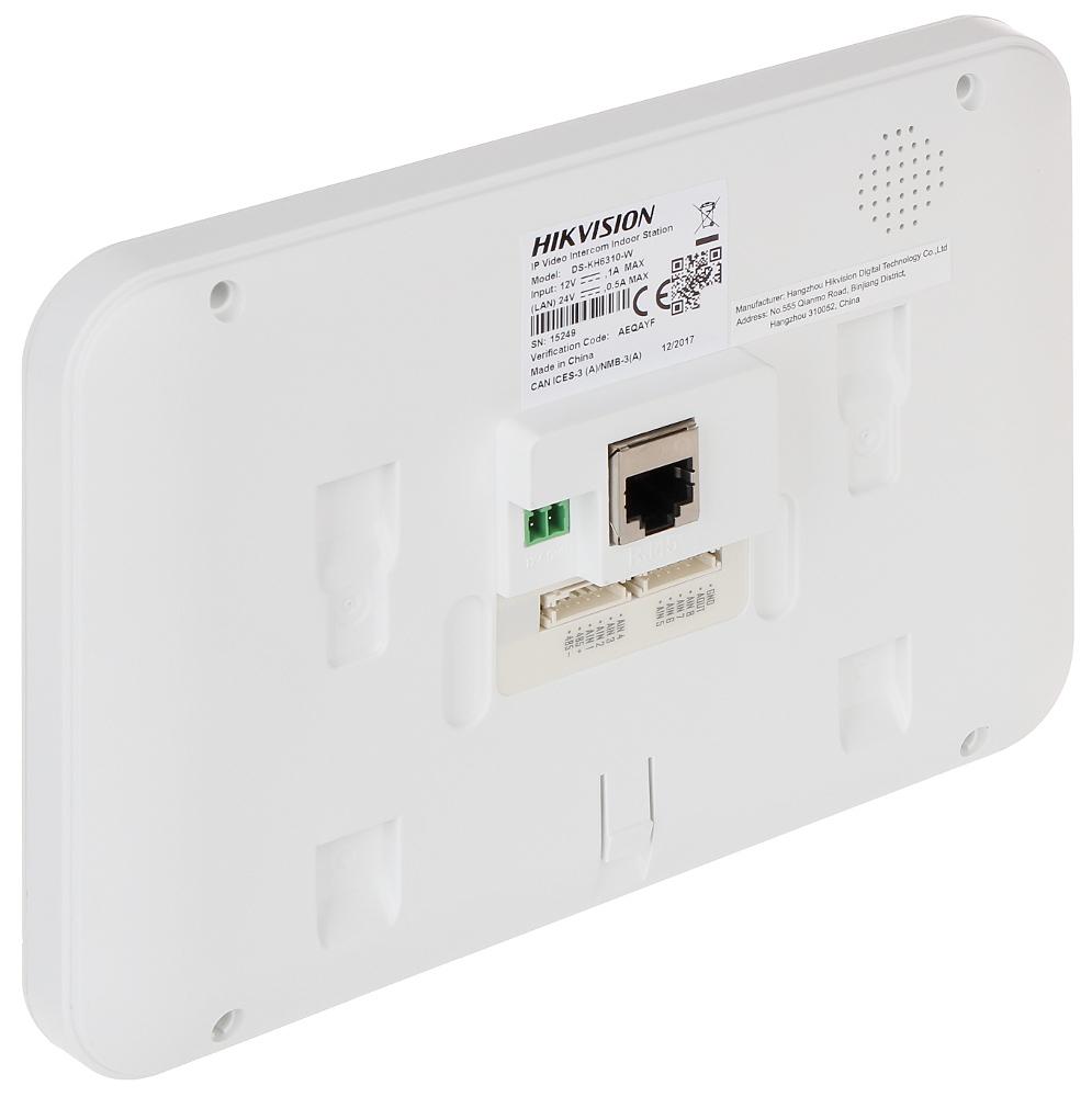 INDOOR PANEL IP DS-KH6310-W HIKVISION - Indoor Panels (Monitors) - Delta