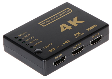 SWITCH HDMI SW 5 1P