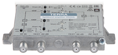 MULTIBAND AMPLIFIER HS 004L