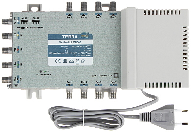 MULTISWITCH MR 508 5 INGRESSI 8 USCITE TERRA