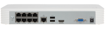 IP DVR NVR108LB P8 8 CHANNELS 8 PORT SWITCH POE UNIARCH