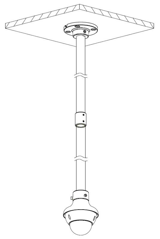 LONG PIPE PFA117 DAHUA - Adapters - Delta