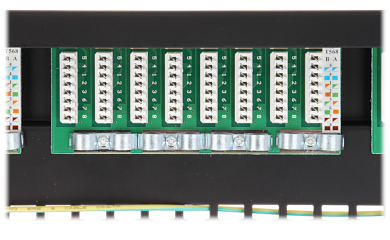 PATCH PANEL RJ 45 PP 24 RJ6 C FTP S