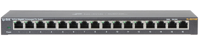 SWITCH TL SG116E 16 PORT TP LINK