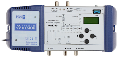 PROGRAMMABLE MULTI RANGE AMPLIFIER WWK 951 TELMOR