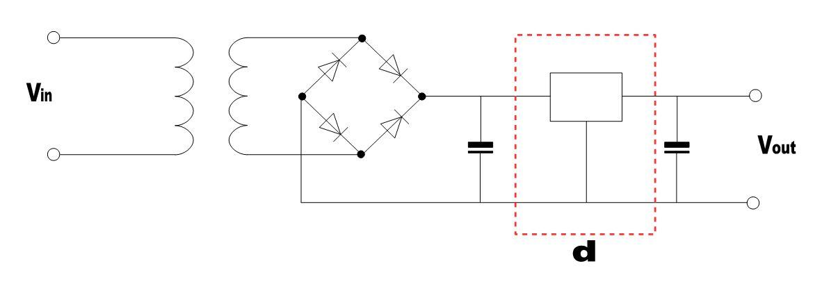 Transformator-Netzteil - Delta
