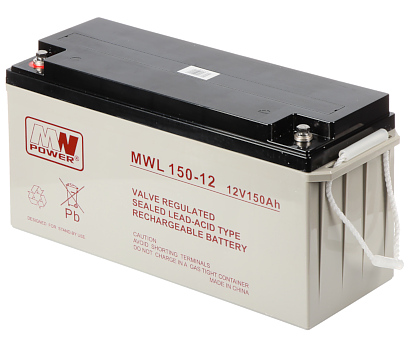 BATTERY 12V 150AH MWL
