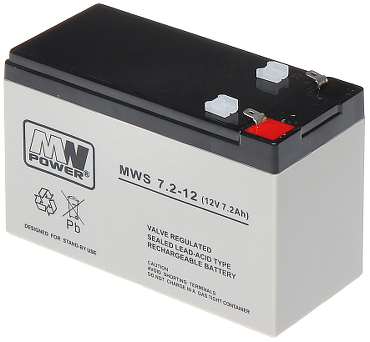 AKUMULATORS 12V 7 2AH MWS
