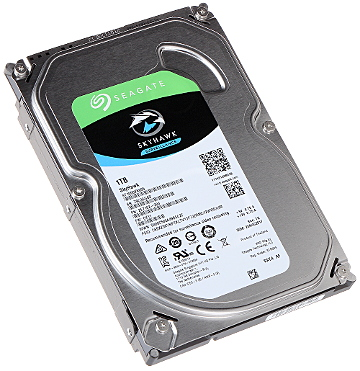 HDD FOR DVR HDD ST1000VX005 1TB 24 7 SkyHawk SEAGATE