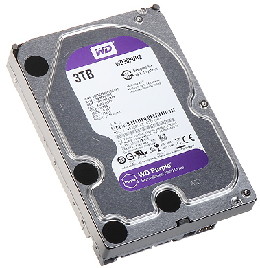 HDD FOR DVR HDD WD30PURZ 3TB 24 7 WESTERN DIGITAL