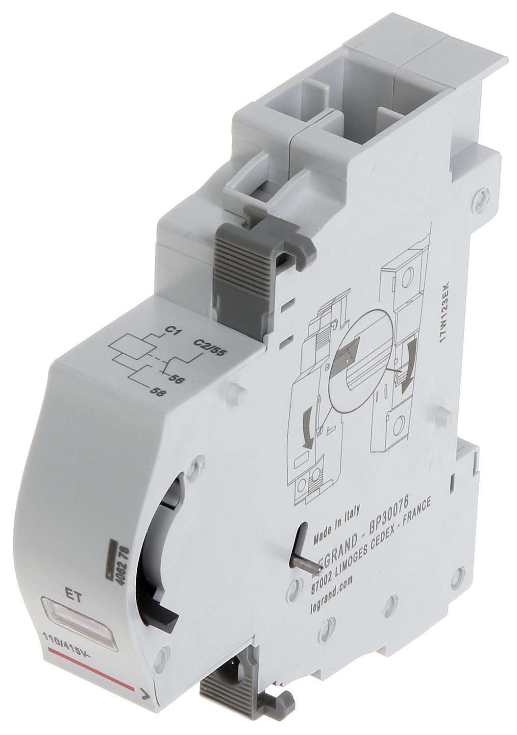Shunt Trip Le 406278 For The Legrand Devices Of Tx Tripping Unit Circuit Breaker Tx3 Dx3 Fr300 Frx300 Frx400 Series