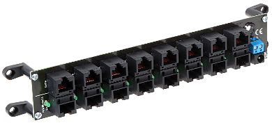 PATCH PANEL POE 8 R