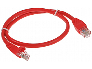 PATCHCORD RJ45 0 5 RED 0 5 m