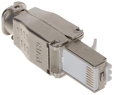 MODULAR STECKER RJ45 FTP6A HAND