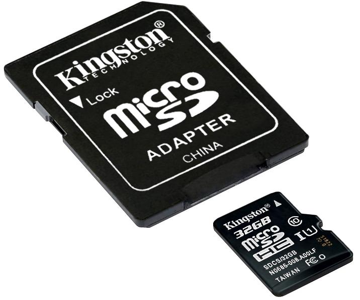 Pametova Karta Sd Micro 10 32 King Uhs I Sdhc 32 G Flashdisky