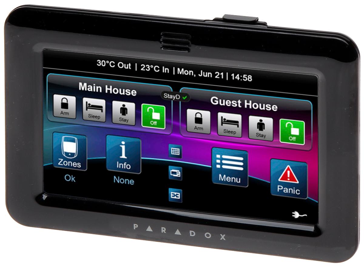 Graphic Keypad For Alarm Control Panel Tm 50b Paradox_l2_p9648 on 16 X 20 Floor Plans