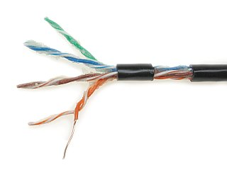 TWISTED PAIR CABLE UTP K5 305M ZEL