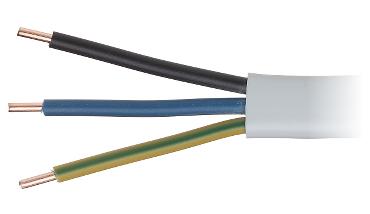 Platte elektriciteitskabel ydyp 3x2 5 elektrische kabels - Cable electrique plat ...